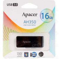 Флэш-диск Apacer 16 Gb AH350  Black USB 3.0 (200)