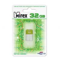 Флэш-диск Mirex 32Gb ARTON Green (10/50/5000)