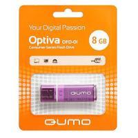 Флэш-диск QUMO 08 Gb Optiva-01 Violet (2000)