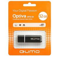 Флэш-диск QUMO 32 Gb Optiva-01 Black (1000)