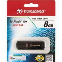 Флэш-диск Transcend 08 Gb JetFlash 350 (25/7500)