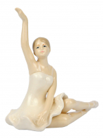 К101836 Фигурка Балерина  14,5*8*12,3см фарфор