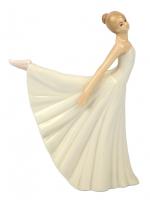 К101838 Фигурка Балерина  16,8*5*15 см фарфор