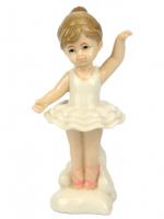 К101841 Фигурка Балерина  12,8*5,5*6,5 см фарфор