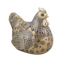 К101814 Фигурка декоративная Курица 14*11*13  см