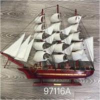 К181046  Изделие декоративное Корабль 80 см