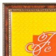 Ф/рамка Emafyl 782 10*15 темный орех