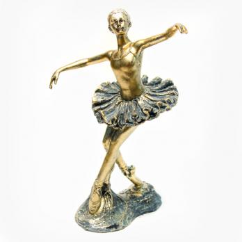 К8201 Фигурка Балерина 25*10 см полистоун
