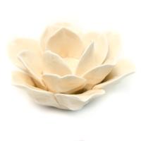 F008 Цветок-подсвечник фарфор 11*11*5 см