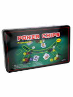 К8098 Набор для игры в покер 300 ф с номиналом 33*20*5 см