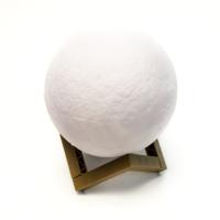 К8142-15 Светильник ночник Луна 3D, шар 15 см