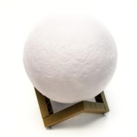 К8142-18 Светильник ночник Луна 3D, шар 18 см