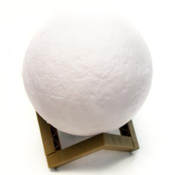 К8142-20 Светильник ночник Луна 3D, шар 20 см