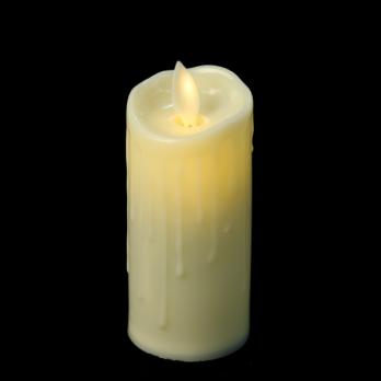 К8125-1(12) Свеча мерцающая, светодиодная 6,5 см