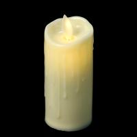 К8125-3(12) Свеча мерцающая, светодиодная 10 см