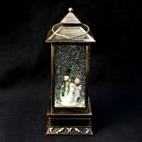 К8111 Новогодний светильник фонарь (батарейки ) 30 см