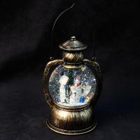 К8114 Новогодний светильник фонарь (батарейки ) 20 см