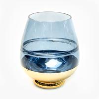 К8361 Ваза цветное стекло 16*20 см