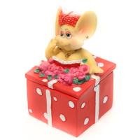 CW004 Шкатулка мышка