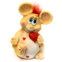 CW017 Копилка Мышка