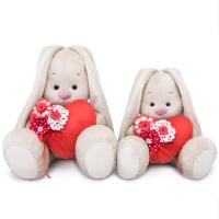 SidS-285 Зайка Ми с красным сердечком  (малый)