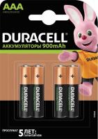 Бат.Duracell HR03-4BL 850mAh/900mAh