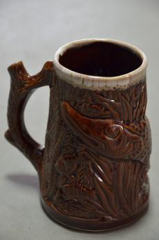 бокал щука коричневая