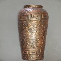 ваза напольная арго барашки бронза