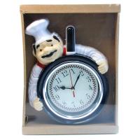 К8529 Часы настенные Повар кварц 23*38 см