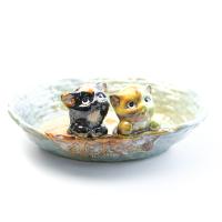 К8609 Декоративная тарелка 20*17 см