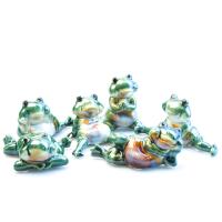 К8624 Лягушка декоративная 13*8 см