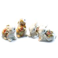 К8634 Фиурка декоративная Зайчик 5,5*5,5 см(керамика)(4)