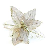 К8396-2 Декоративное изделие Цветок 21 см
