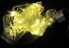 К8166-1 Гирлянда светодиодная сетка 240 ламп 2*2 м (свет теплый)