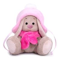 SidX-326 Зайка Ми в шапке с помпоном и шарфе (малыш)