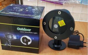 Новогодний Лазерный проектор 804