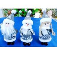MML16016 (12) Санта , снеговик, девочка11.5 см