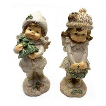 PLA17580  Новогодний ребенок-эльф 5.2*4.9*12.4
