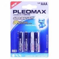 Бат.SAMSUNG Pleomax R03-4BL блистер (40)