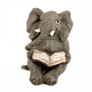 EVE 50286 слоник с книгой 5*4,5*6см
