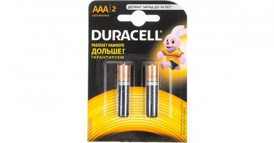 Бат.DURACELL LR03-2BL Basic (20)