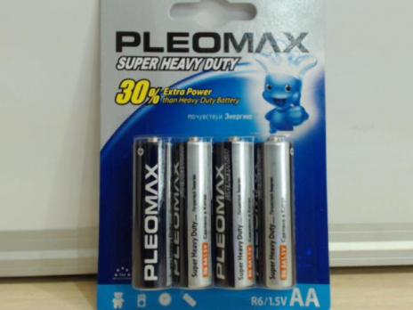 Бат.SAMSUNG Pleomax R6-4BL блистер (40)