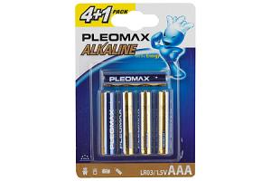 Бат.SAMSUNG Pleomax LR6-4+1BL (50)