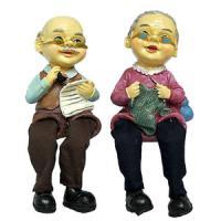 708210 (2) Фигурка Бабушка,дедушка 21*8см