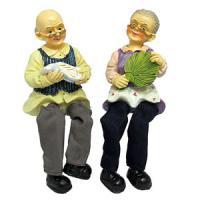708211 (2) Фигурка Бабушка,дедушка 24*8см