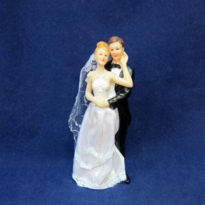 + BCG 09083 свадебная пара в ассорт.7,7*6,6*21,5см