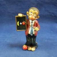CNR 65673 обезьяна-фермер 7,2*4,3*12,5см