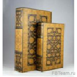 + SHB 9408 набор шкатулок-книг 33*22*7см