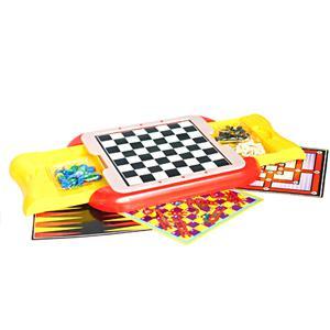 75571 Игра 8 в 1 (шашки,шахматы,кубик) 29*23см