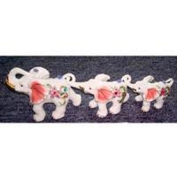 H 3685А набор из 3 слонов 15см